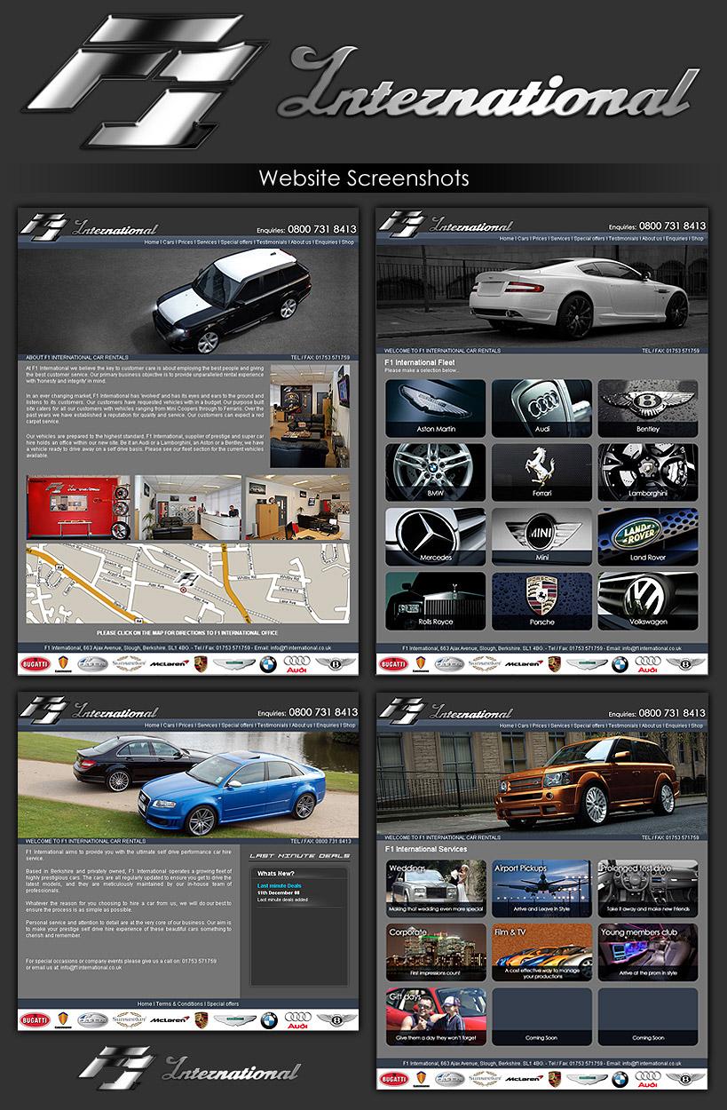 F1 International Screenshots