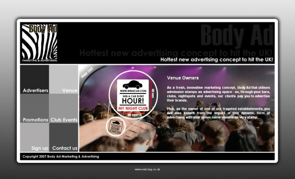 Body Ad Venue Page
