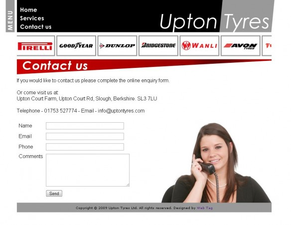 Upton Tyres